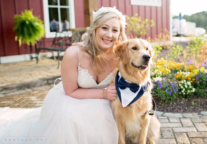 bride-dog-southern-wedding