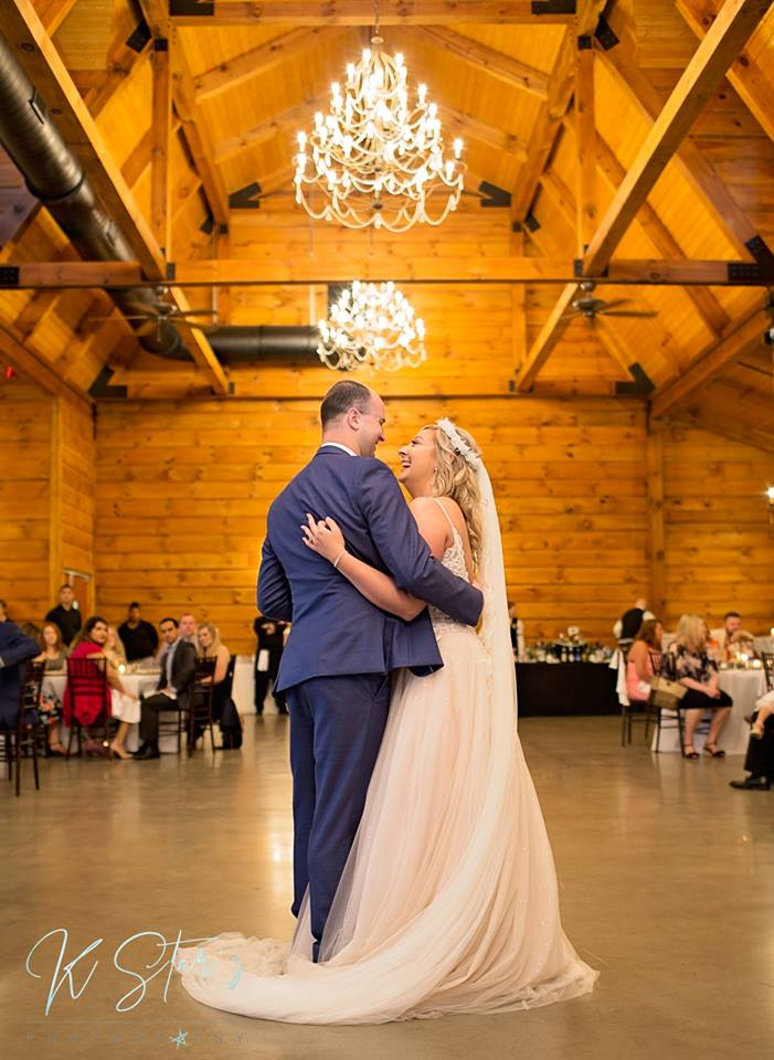 bride-groom-first-dance-wedding-reception-southern-wedding-planner