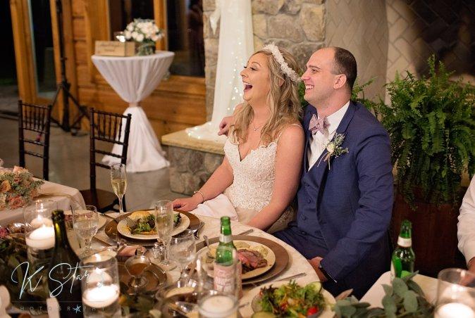 bride-groom-sweetheart-table-wedding-reception-southern-nc-wedding-planner