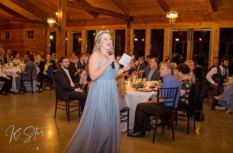 bridesmaid-toast-wedding-reception-southern-wedding
