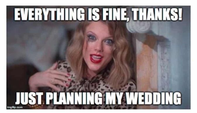 taylor wedding planning